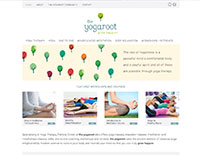 The Yogaroot website